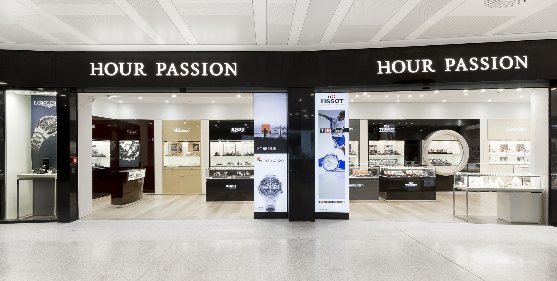Swatch Group opens at Malpensa