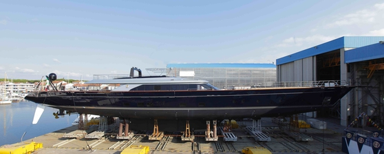 The Perini Navi launches Perseus3