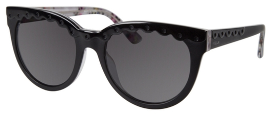 Oversized cat-eye sunglass