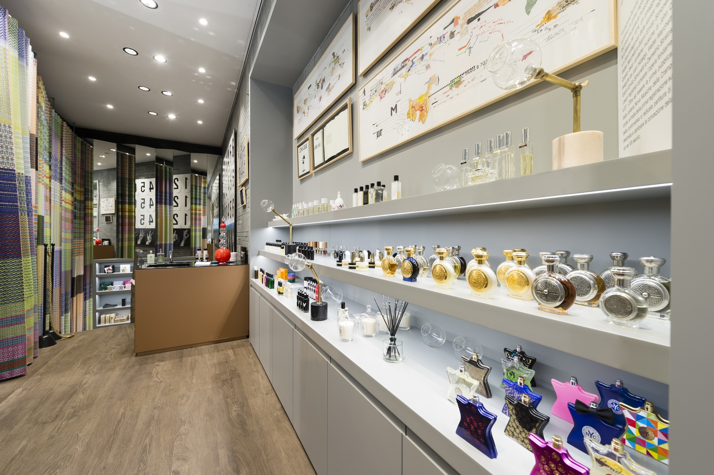 Avery perfume gallery for Arredo profumeria